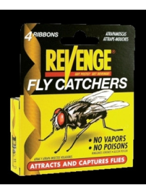 Bonide Revenge Fly Catcher Ribbons 4/pk