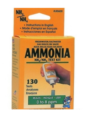 Fresh Or Salt Water Ammonia Test Kit