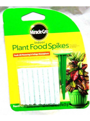 Miracle-Gro Indoor Food Spike