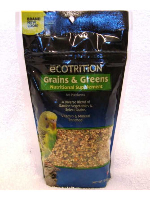 Parakeet Grains And Greens Supplement