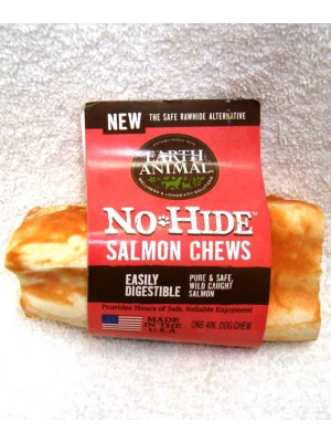 No Hide Salmon Chew 4""