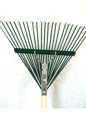 Woverinel 24'' Steel Leaf Rake