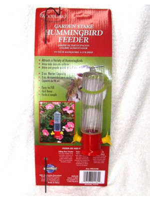 WoodLink Stake Hummingbird Feeder