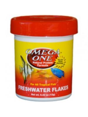 Omega One Freshwater Flakes .42 Oz.