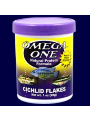 Omega One Cichlid Flakes 1 Oz.