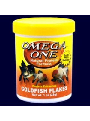 Omega One Goldfish Flakes 1 Oz.