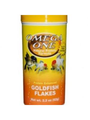 Omega One Goldfish Flakes 2.2 Oz.