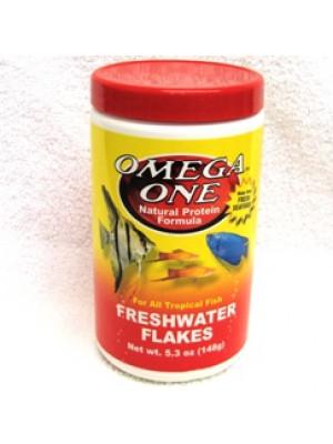 Omega One Freshwater Fish Flakes 5.3 Oz.