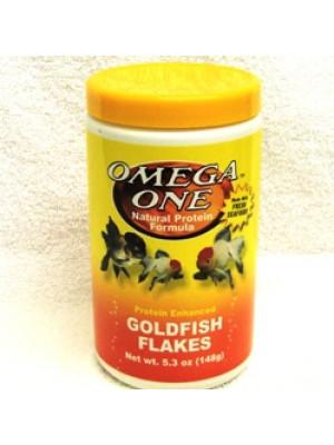Omega One Goldfish Flakes 5.3 Oz.