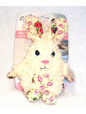 AFP Shabby Chic Rabbit Dog Toy