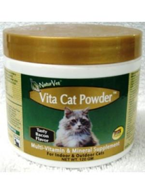Natur Vet Vita Cat Powder Vitamins 120 gm