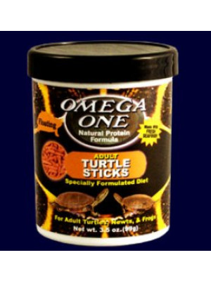 Omega Adult Turtle Sticks Food 3.5 Oz.