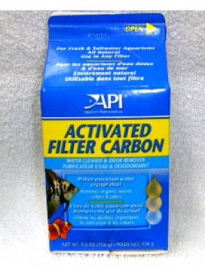 Activated Filter Carbon Water Cleaner 5.5 Oz.