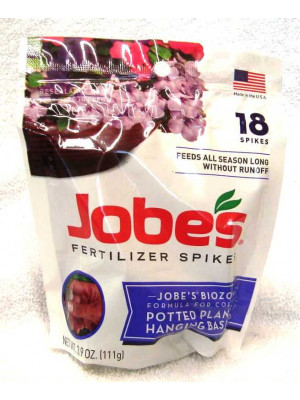 Jobe's Hanging Basket Fertilizer Spikes
