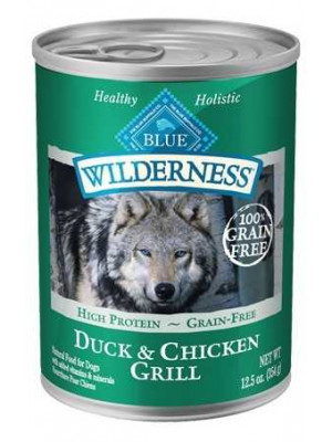 Blue Buffalo Duck Chicken Grill Can Dog 12.5 oz.