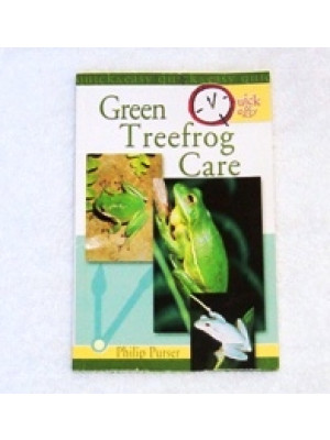 TFH Quick & Easy Green Tree Frog Care Book