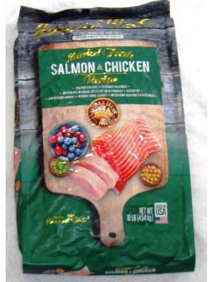 Fussie Cat Grain Free Salmon/Chicken Dry Food 10#