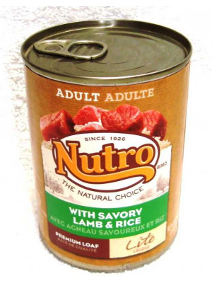 Nutro NC Dog Lite Lamb & Rice 12.5oz Wet Food