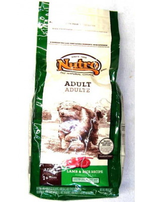 Nutro Natural Choice Lamb And Rice Dog Food 5 Lb.