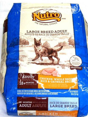 Nutro Large Breed Adult Dog C/BR/SP 30#