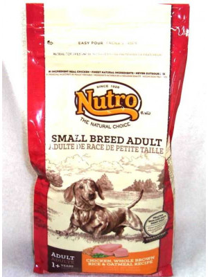 Nutro Small Breed Adult C/R/O 4 Lb