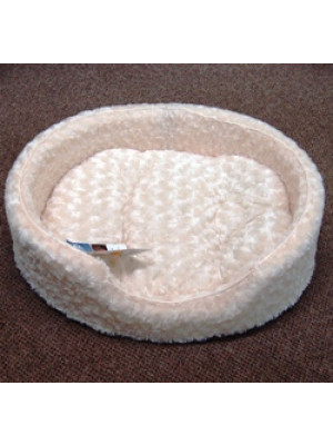 Ultra Plush Oval Creme Large