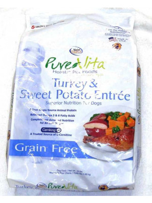 PureVita GF Turkey and Sweet Potato Food 15lb.