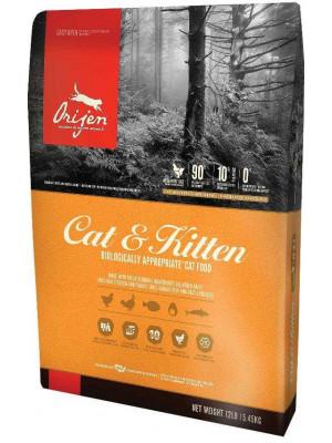 Orijen Cat & Kitten Dry Chicken & Fish Cat Food