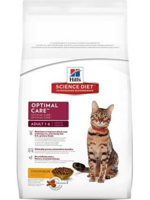 Science Diet Optimal Care 7 Lb. Cat Food