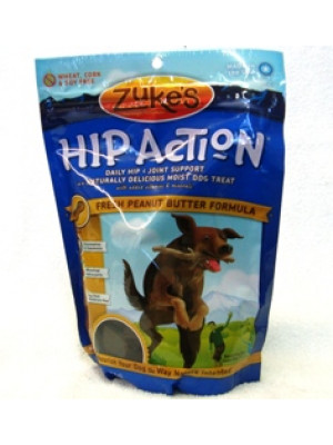 Zuke's Hip Action Peanut Treats