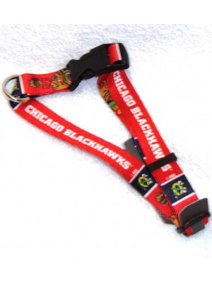 Blackhawks Dog Collar