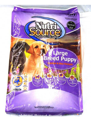 NutriSource Puppy Large Breed 15#
