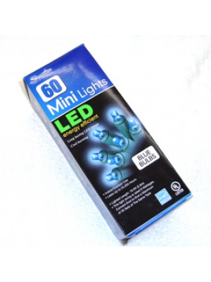 Sienna 60 Blue Mini LED Light String