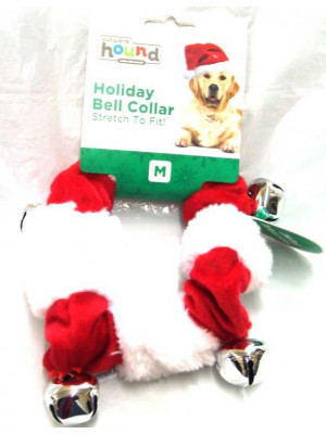 Christmas Bell Collar Med