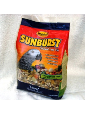 Higgins Sunburst Parrot Food 3#