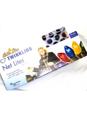 Brite Star Multi Color Twinkling C7 Net Lites