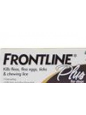 Frontline Plus Single Application Dogs 89-132 lbs.