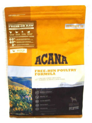 Acana Free-Run Poultry Dry Dog Food 4.5 Lb
