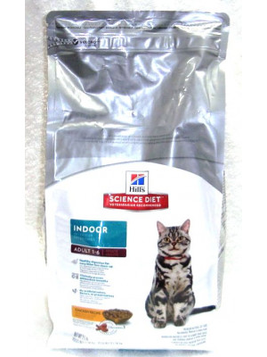 Science Diet Indoor  Adult Cat 3.5 Lb.