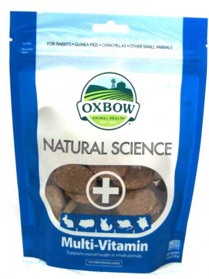 Oxbow Natural Science Multi-Vitamin Supplement 60