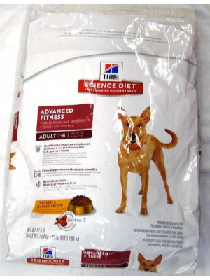 Science Diet Advanced Fitness Adult Dog Food 17.5#