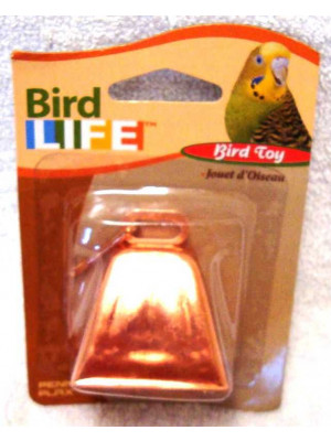 Penn Plax Copper Bell Toy For Parrots