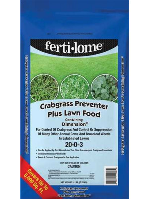 Dimension Crabgrass Prev w/Lawn Food