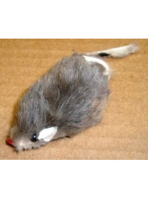 Tiny Fur Mouse Cat Toy