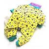 Petrageous Lamb PJ's Yellow XS