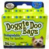 Doggie Doo Bags Baby Powder 25 Bags