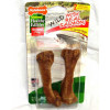 Nylabone Edible Salmon Dog Treat  Med 2pk