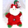 Donut Crinklers Santa Dog Toy