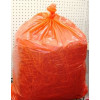 Third Bale Of Straw Loose In A Plastic Bag