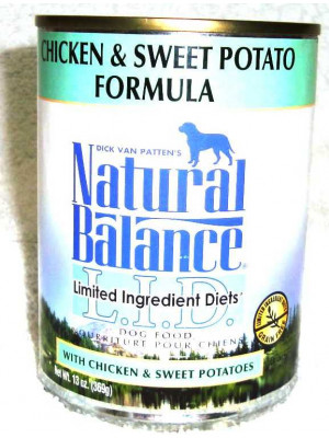 Natural Balance Chicken/Sweet Potato Wet Food